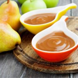 Purée de pomme poire bio (620g)