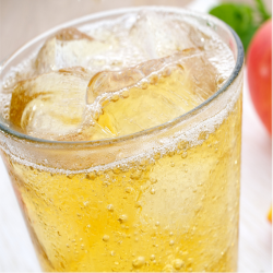 Jus de pommes pétillant bio (75CL)