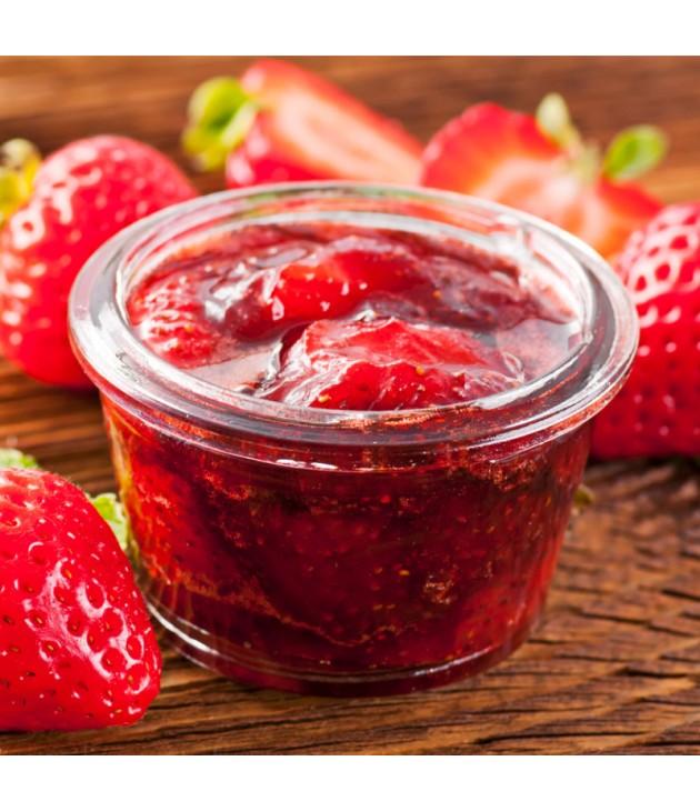 Confiture de fraise bio (340g)