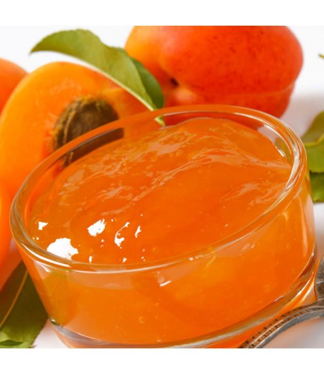 Confiture d'abricot bio (340g)